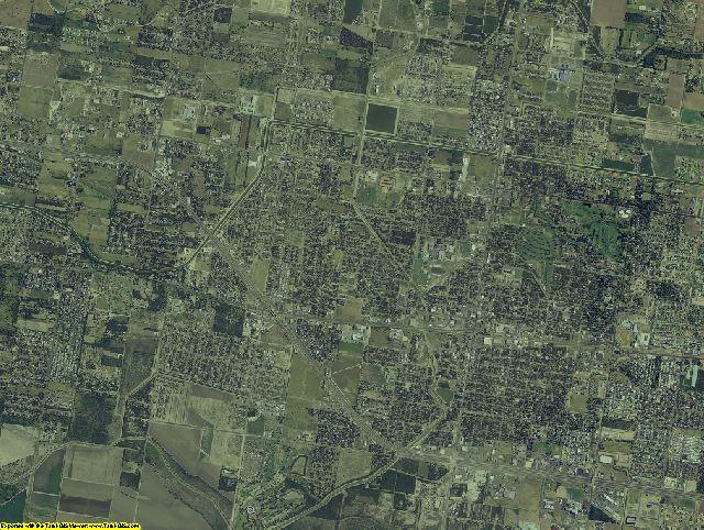 Hidalgo County, Texas aerial photography