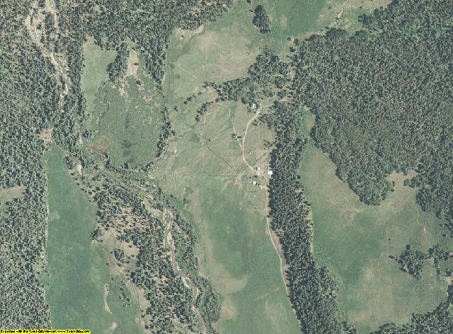 Hinsdale County, Colorado aerial photography