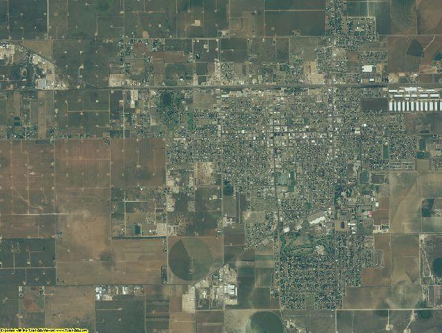 Hockley County, Texas aerial photography