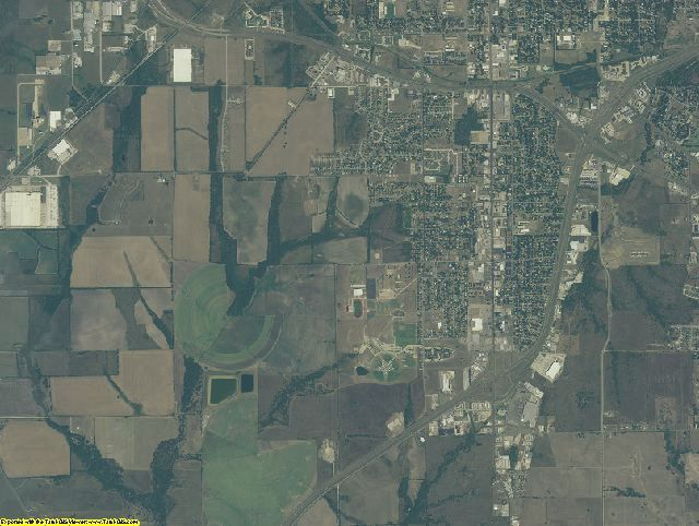 Hunt County, Texas aerial photography
