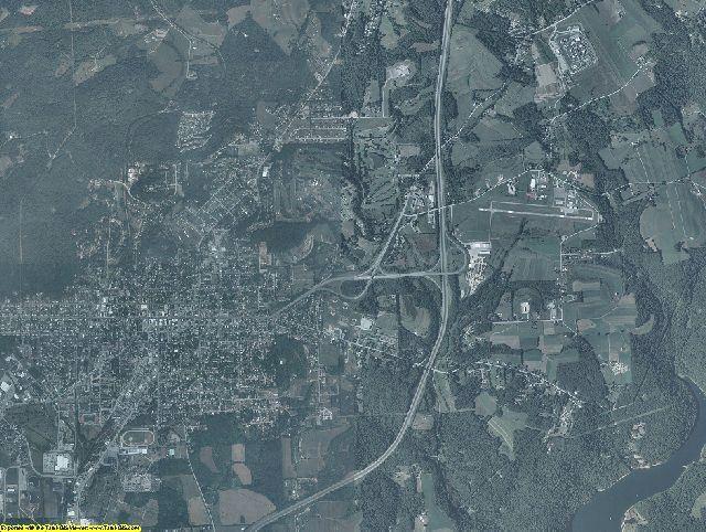 Indiana County, Pennsylvania aerial photography