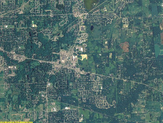 Ingham County, Michigan aerial photography