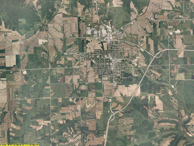 Iowa County, Wisconsin aerial photography