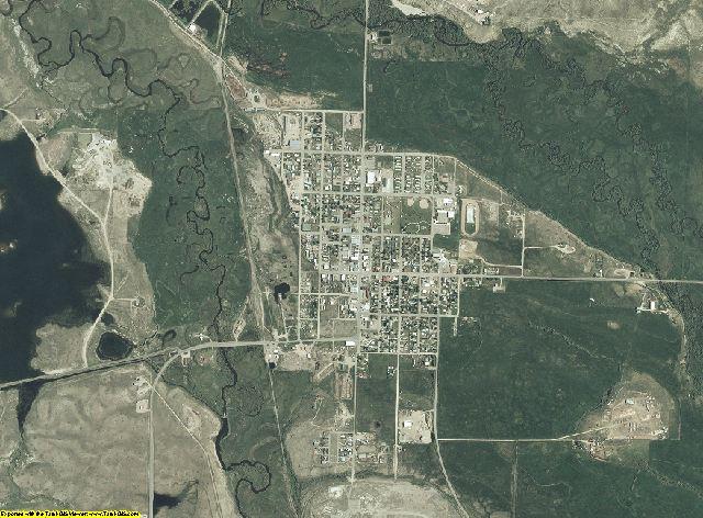 Jackson County, Colorado aerial photography