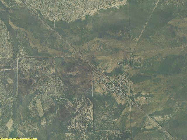 Jeff Davis County, Texas aerial photography