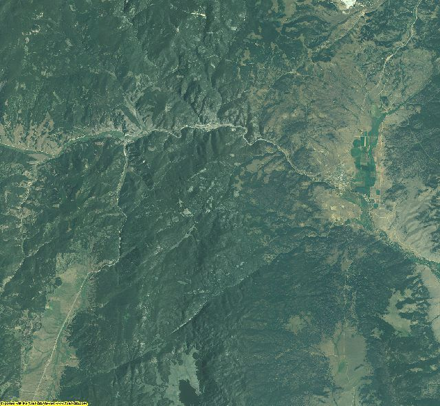 Jefferson County, Montana aerial photography