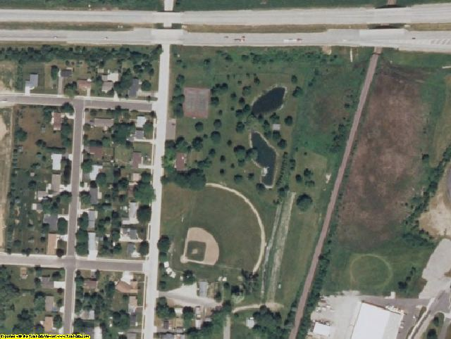 Jefferson County, WI aerial photography detail
