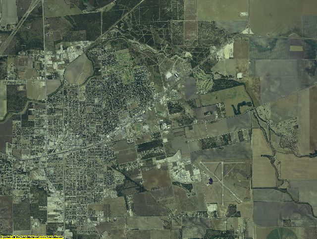 Jim Wells County, Texas aerial photography