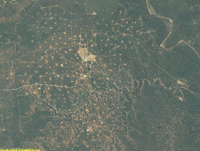 Kent County, Texas aerial photography