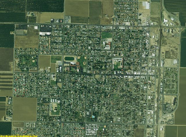 Kern County, California aerial photography