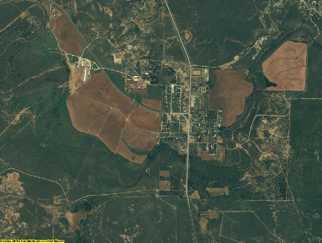 King County, Texas aerial photography