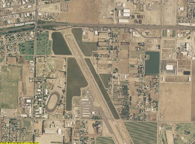 Kings County, California aerial photography