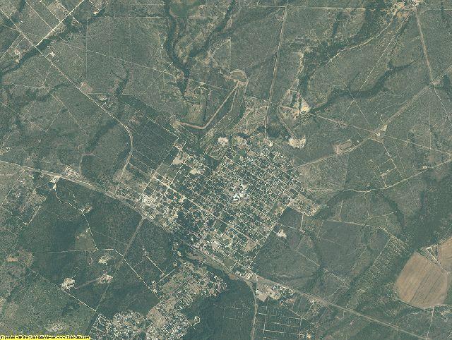 Kinney County, Texas aerial photography