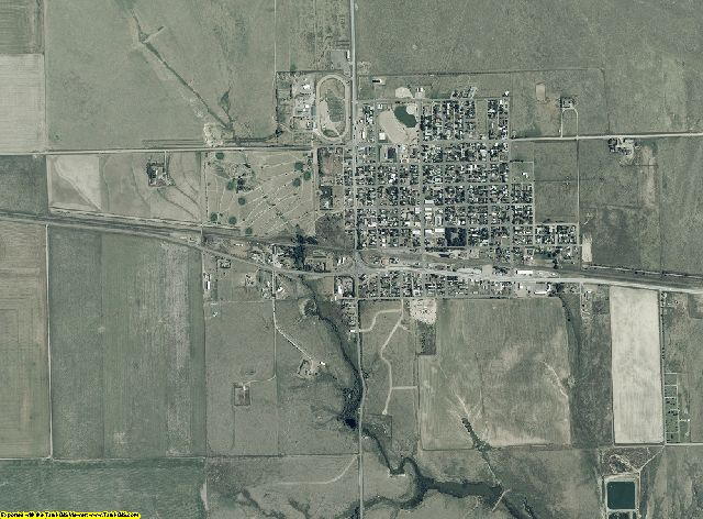 Kiowa County, Colorado aerial photography