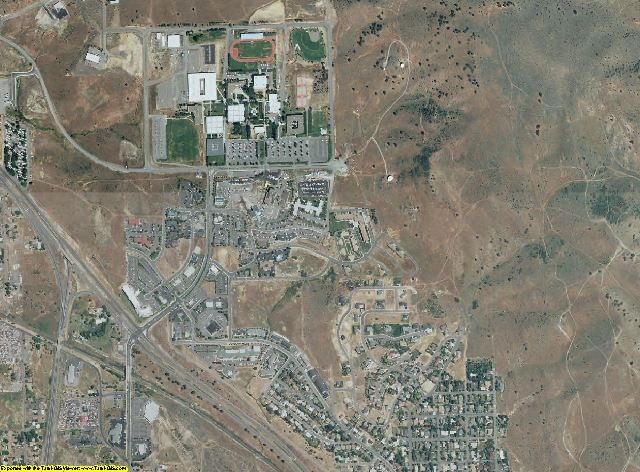 Klamath County, Oregon aerial photography