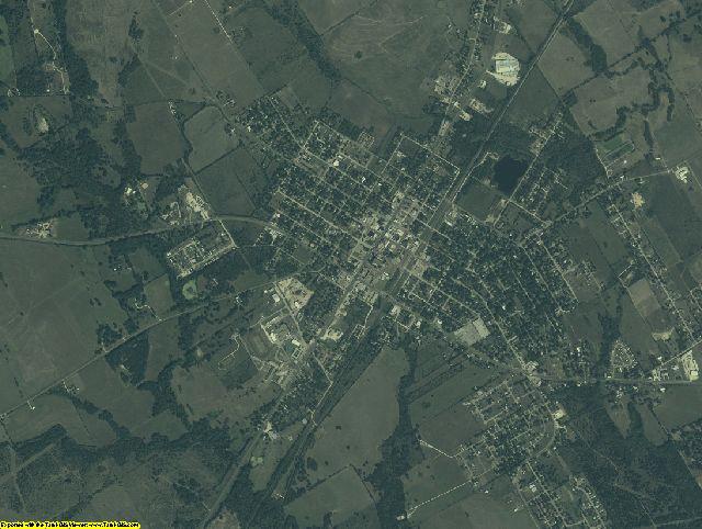 Limestone County, Texas aerial photography