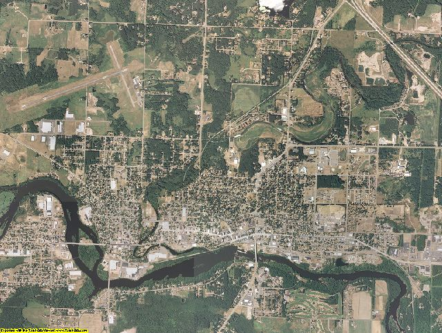 Lincoln County, Wisconsin aerial photography