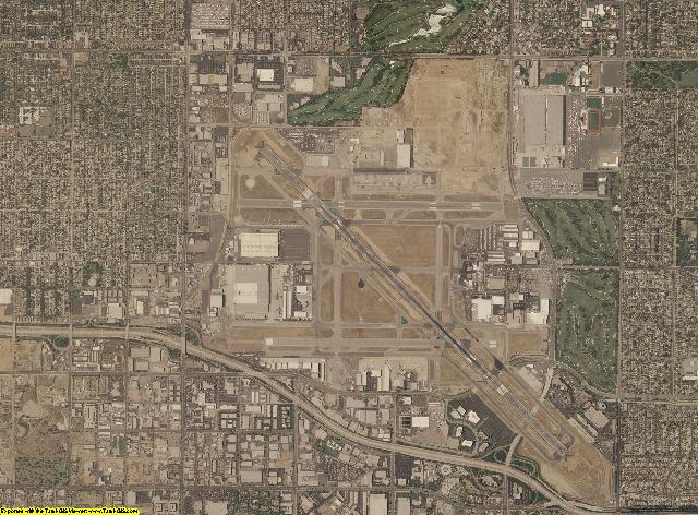 Los Angeles County, California aerial photography