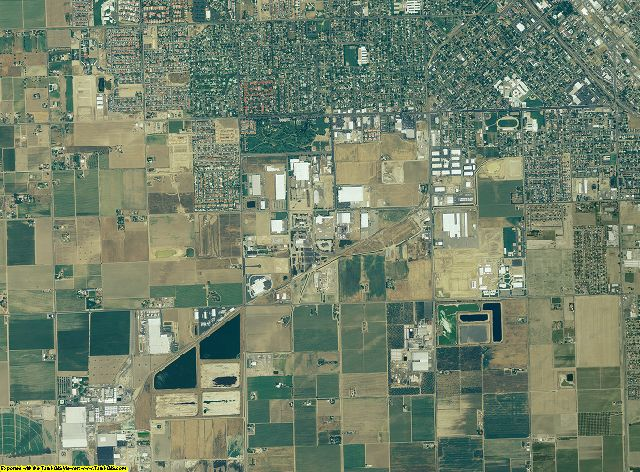 Madera County, California aerial photography