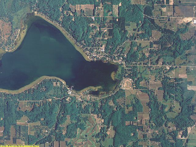 Manistee County, Michigan aerial photography