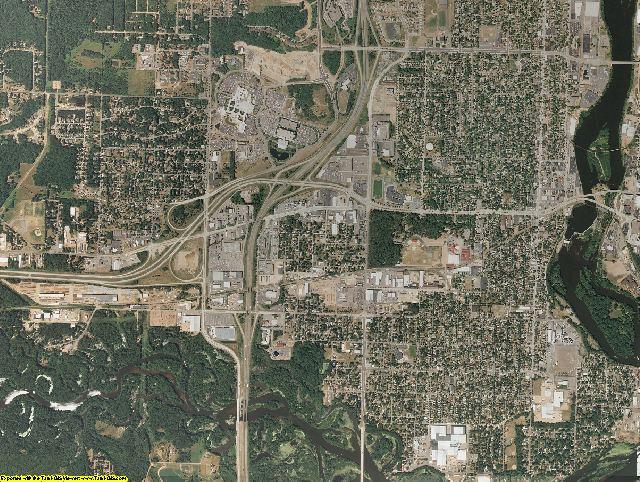Marathon County, Wisconsin aerial photography