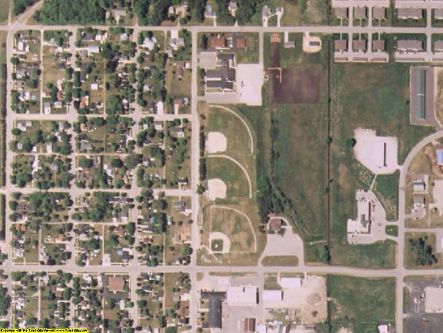 Marinette County, WI aerial photography detail