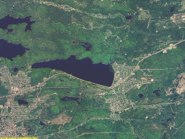 Marquette County, Michigan aerial photography
