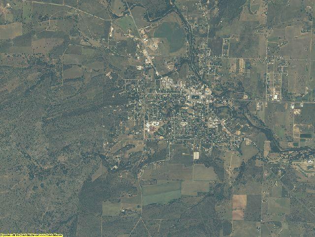 Mason County, Texas aerial photography