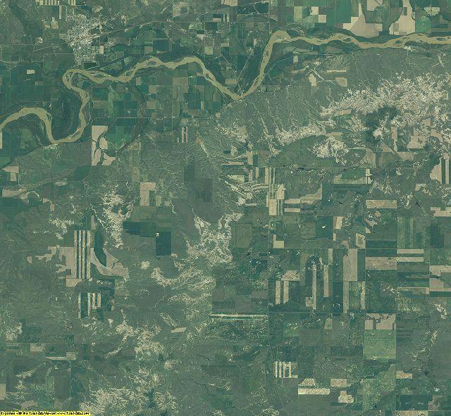 McCone County, Montana aerial photography