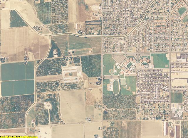 Merced County, California aerial photography