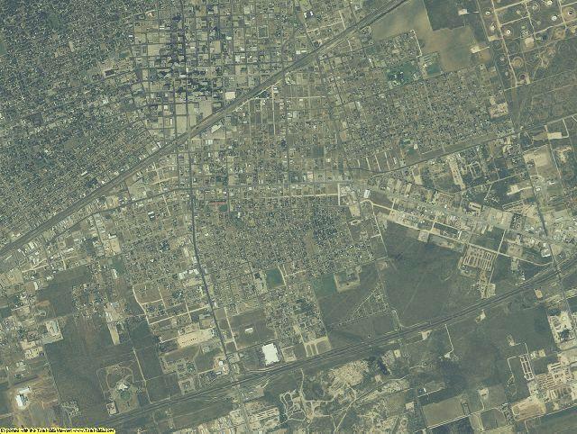 Midland County, Texas aerial photography