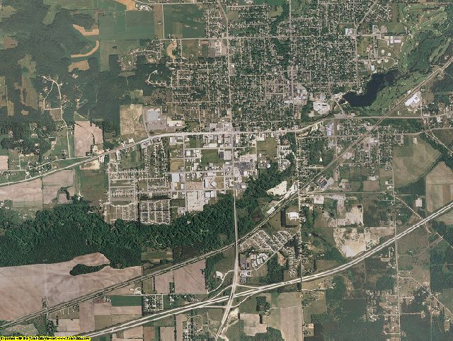 Monroe County, Wisconsin aerial photography
