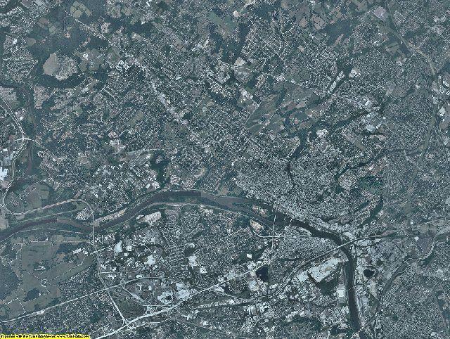 Montgomery County, Pennsylvania aerial photography