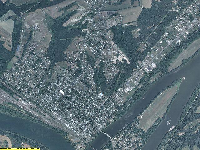 Montour County, Pennsylvania aerial photography