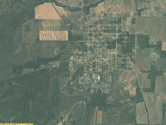 Motley County, Texas aerial photography