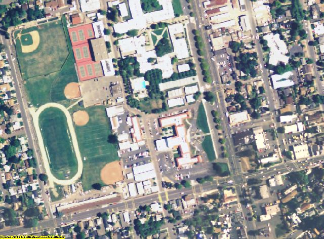 Napa County, CA aerial photography detail