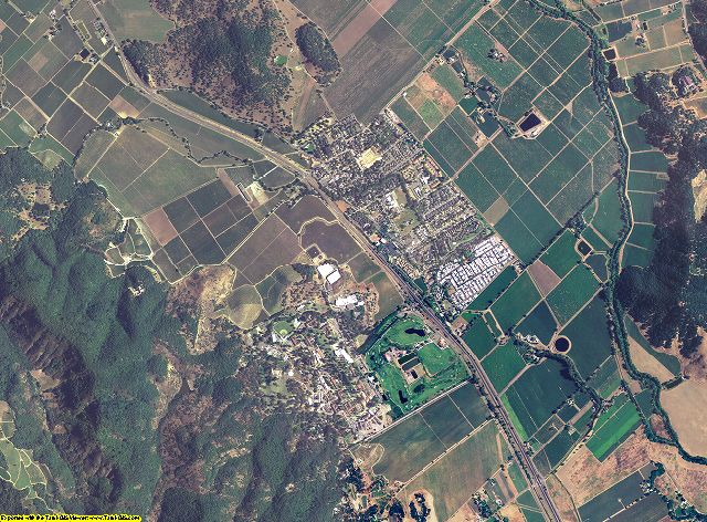 Napa County, California aerial photography