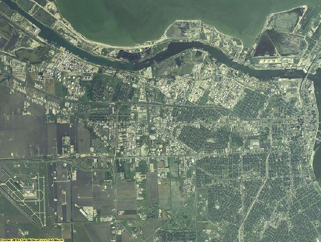 Nueces County, Texas aerial photography