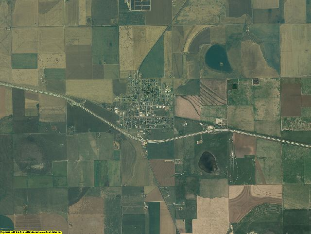 Oldham County, Texas aerial photography