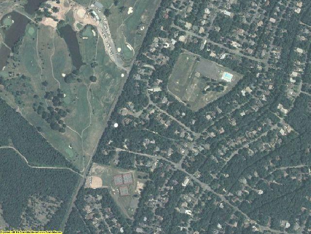 Orange County, VA aerial photography detail