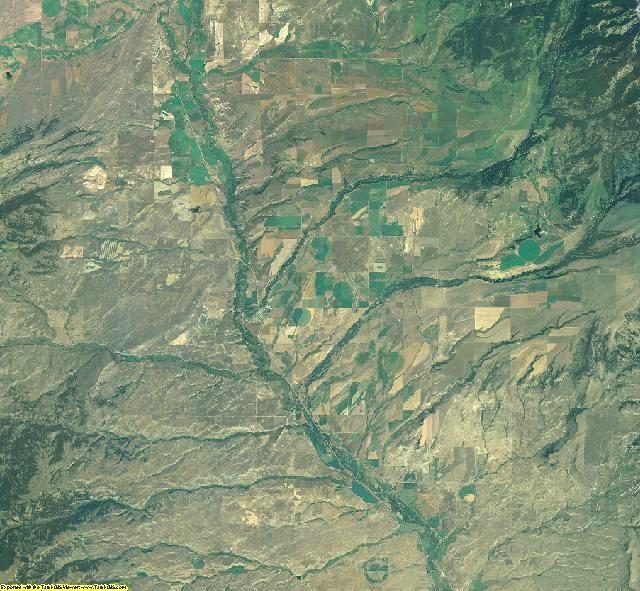Park County, Montana aerial photography