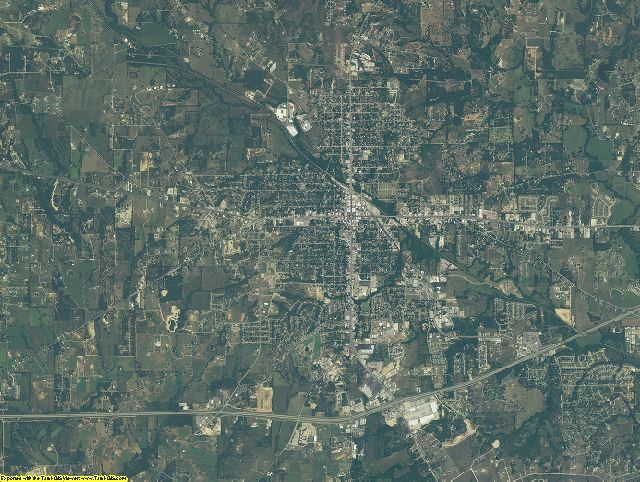 Parker County, Texas aerial photography