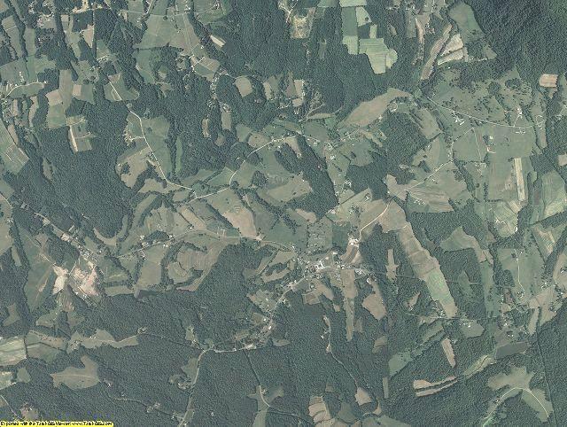 Patrick County, Virginia aerial photography