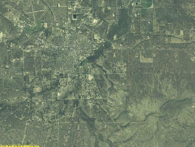 2005 Pecos County, Texas Aerial Photography