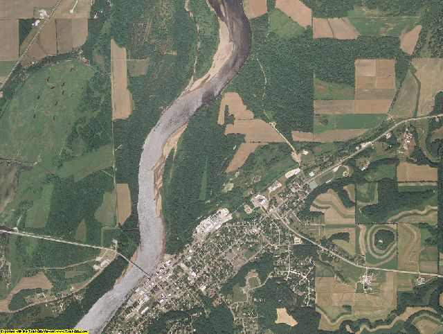 Pepin County, Wisconsin aerial photography