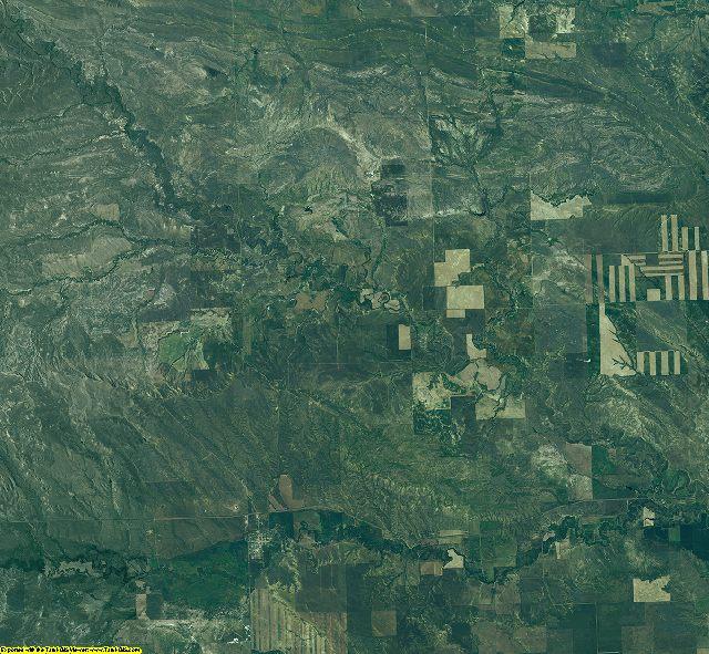 Petroleum County, Montana aerial photography