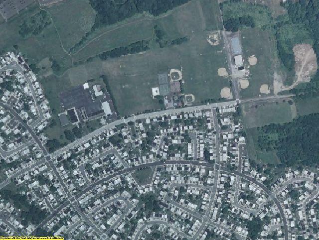 Philadelphia County, PA aerial photography detail