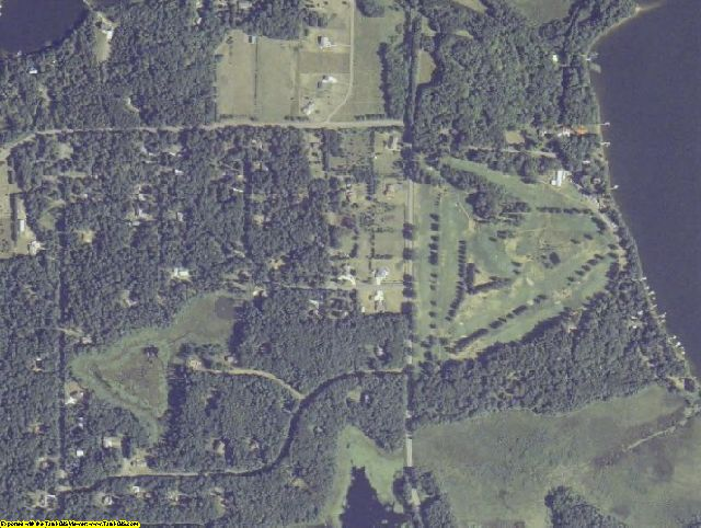 Pine County, MN aerial photography detail