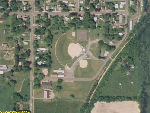 Polk County, WI aerial photography detail
