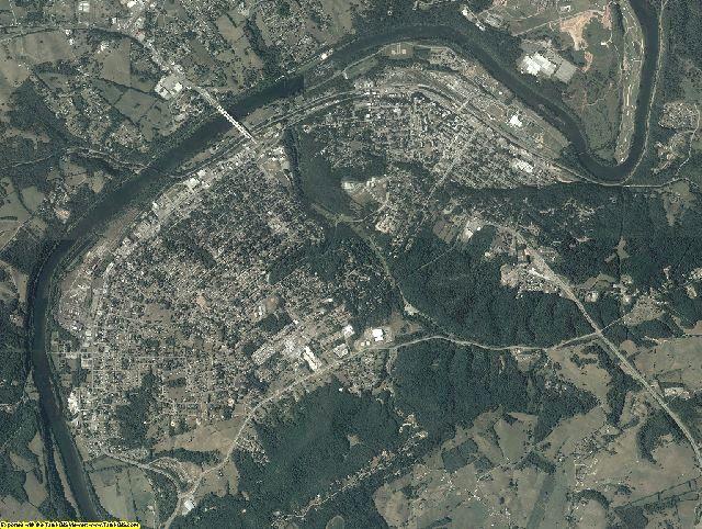 Pulaski County, Virginia aerial photography